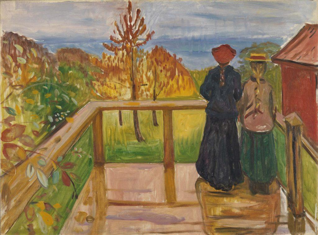 Edvard Munch, La Pluie, 1902