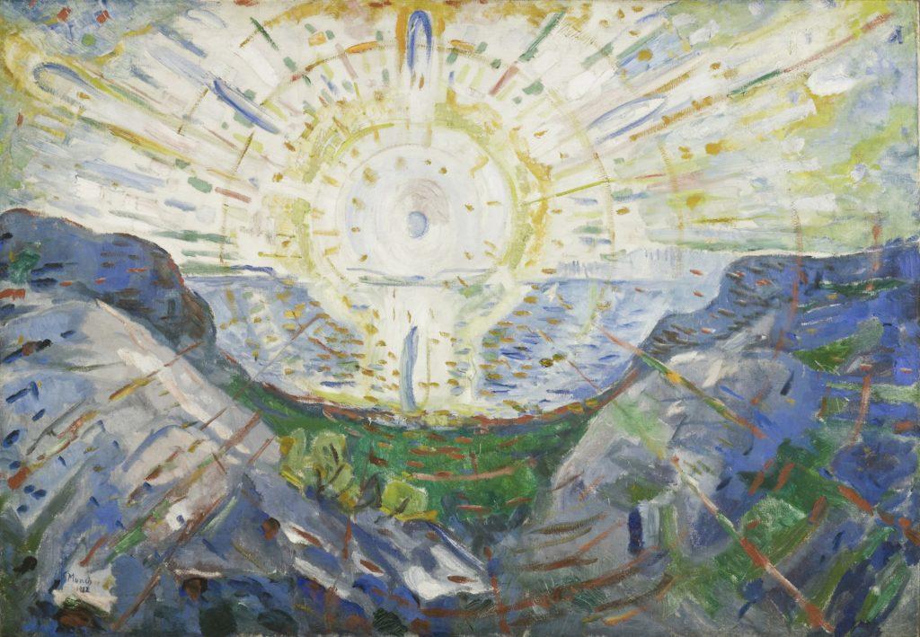 Edvard Munch, Le Soleil, 1912