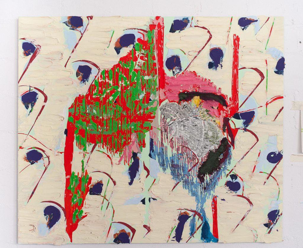 Nicolas Roggy, Sans titre, 2017 Courtesy Martos Gallery Photo Raphael Fanelli
