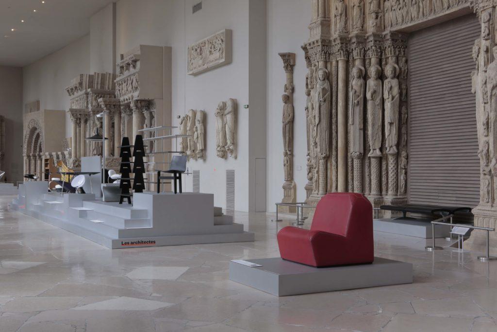 Jean Nouvel Design, le mobilier d'architectes 1960-2020 © Gaston Bergeret