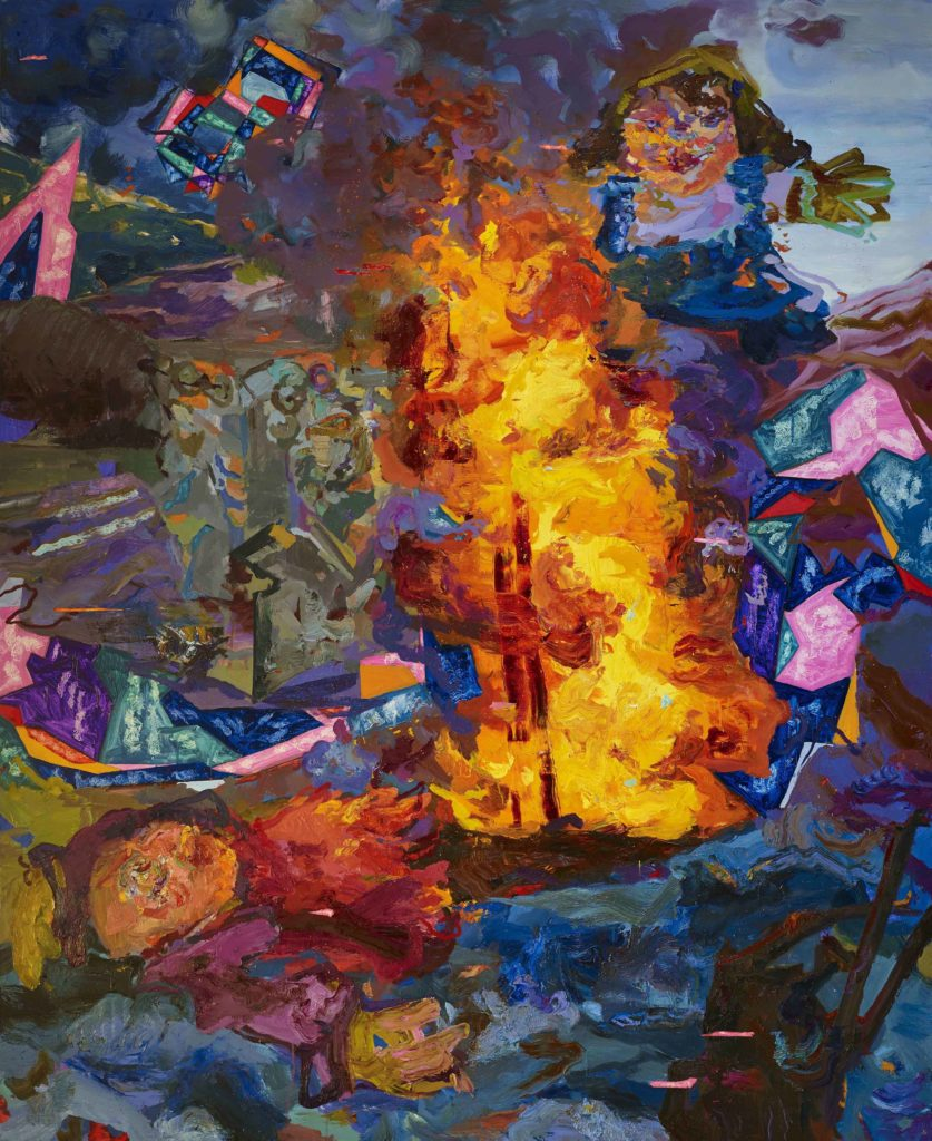 Miryam Haddad, painting
