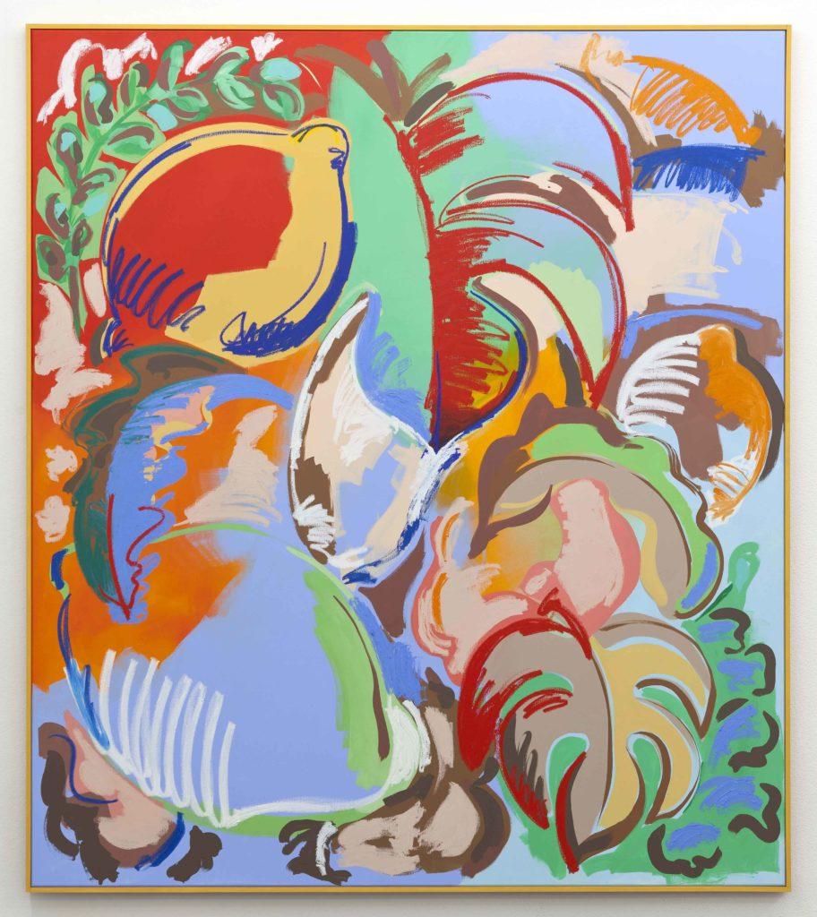 Sol Calero, painting
