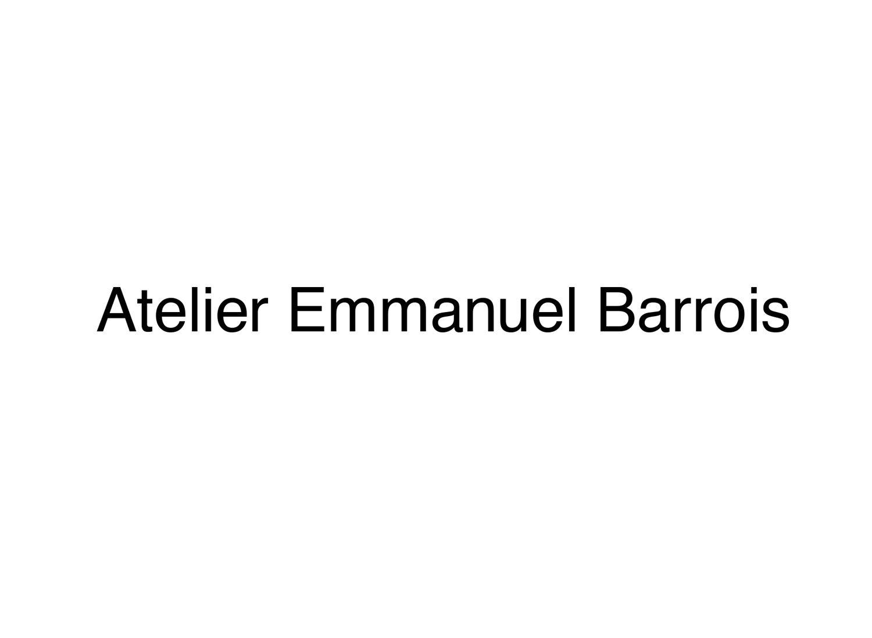 Atelier Emmanuel Barrois