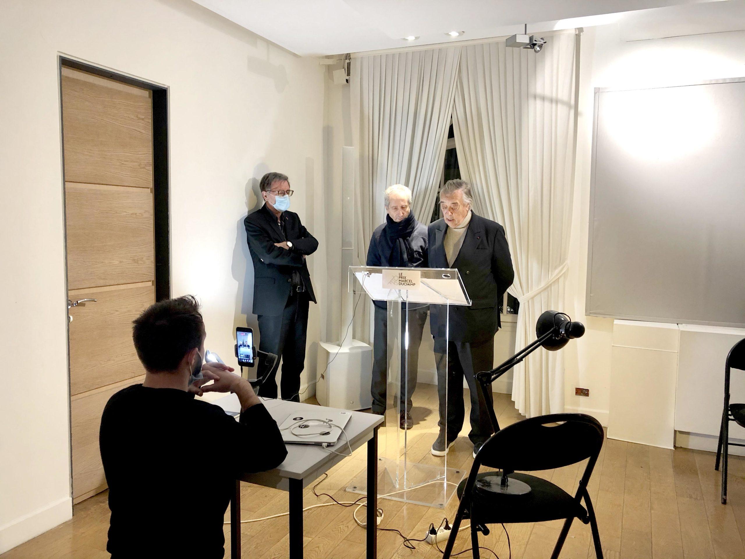 Prix Marcel Duchamp 2021 ( 8janvier 2021)