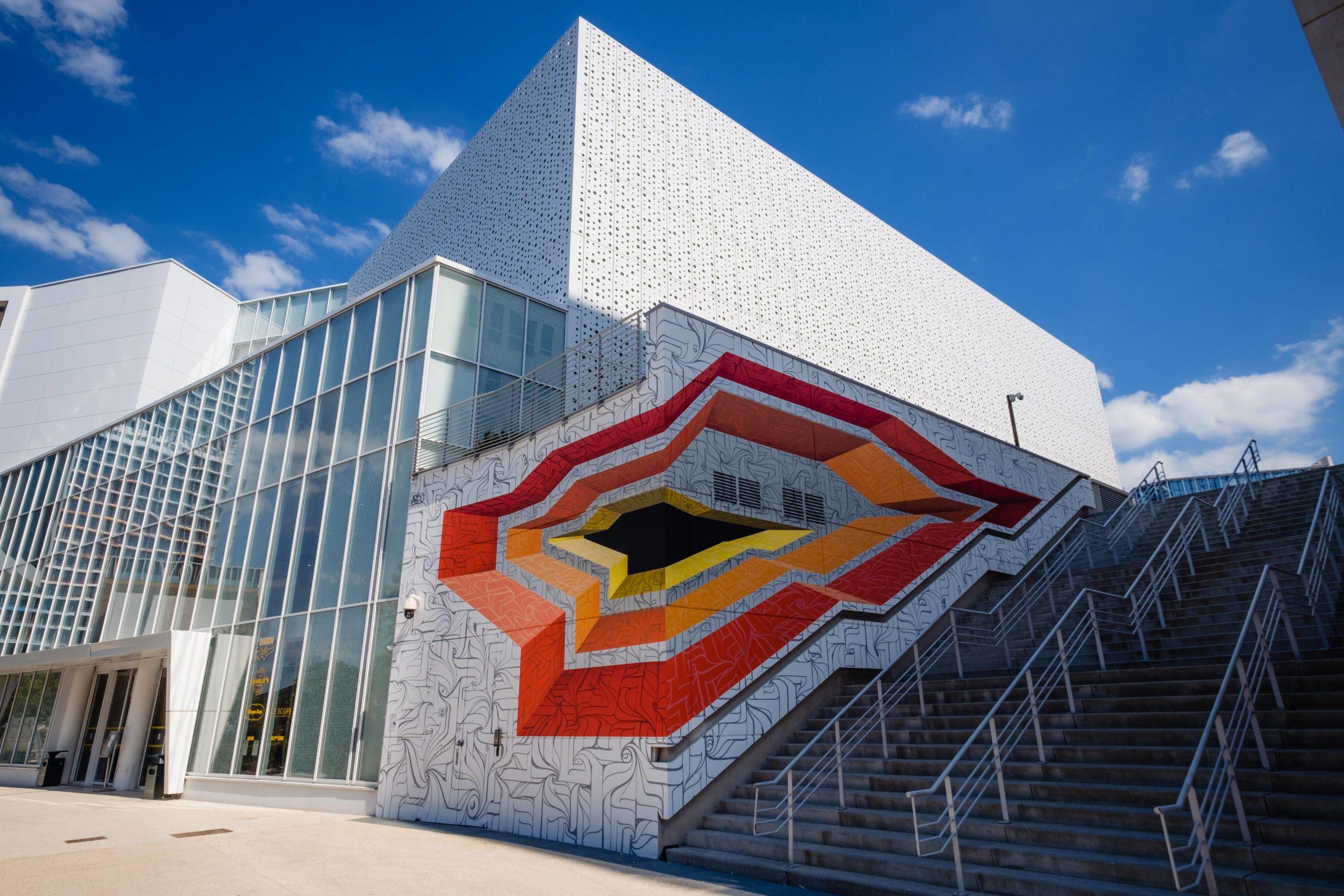 Astro, Architectural Evasion 1 & 2, 2020 (Euromed Center, Marseille, Covivio, Massimiliano Fuksas) © Gilles Perbal 1