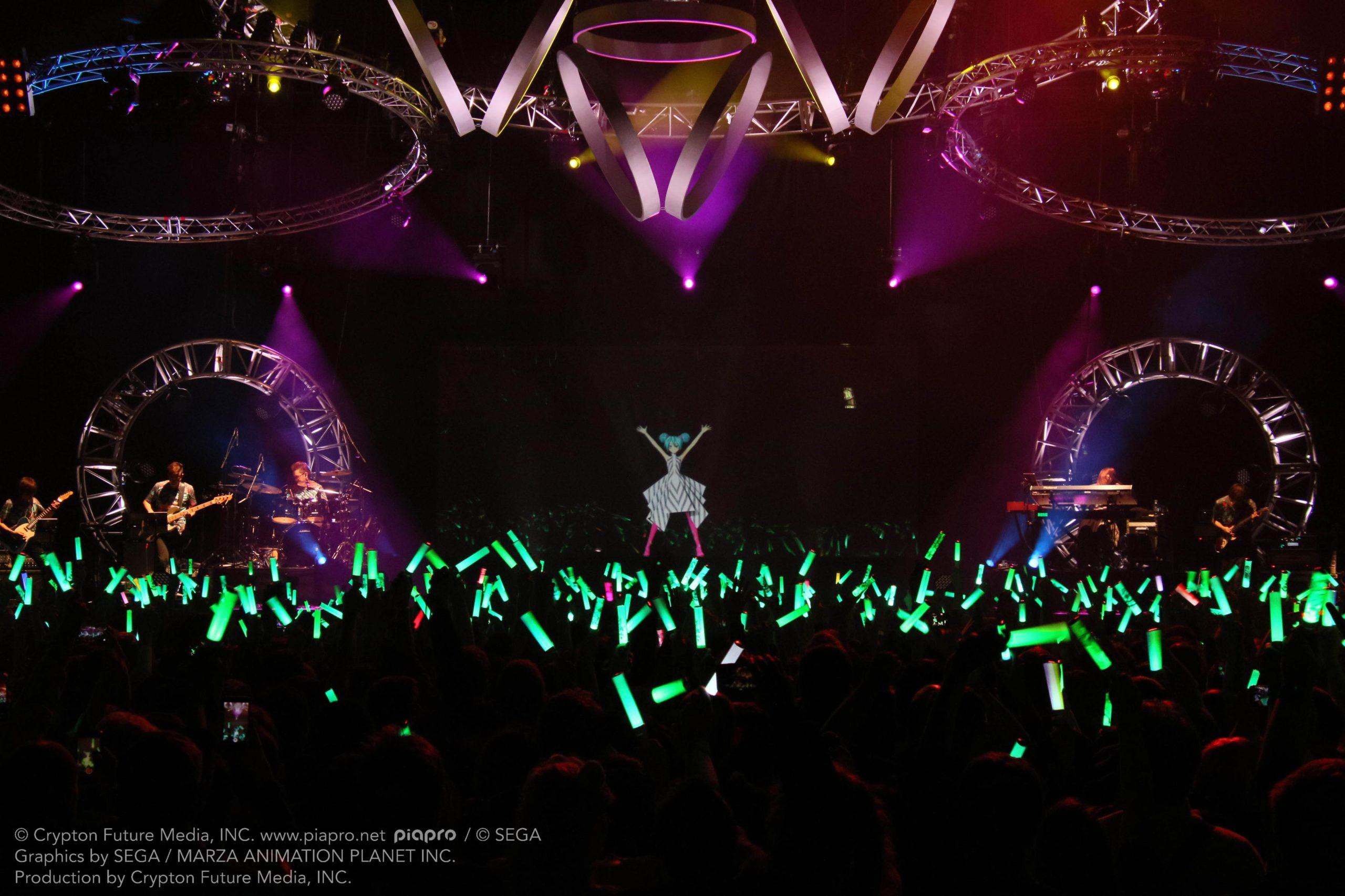 Concert d'Hatsune Miku à la Seine Musicale