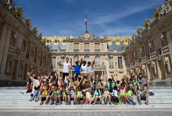 Une Journée de Vacances à Versailles © Emerige