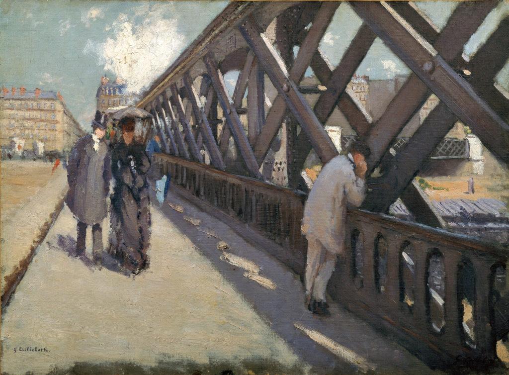 Guillaume Caillebotte, Le pont de l'Europe, 1876, Ordrupgaard