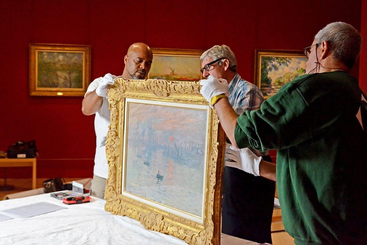 Impressions soleil levant de Claude Monet retourne au Havre