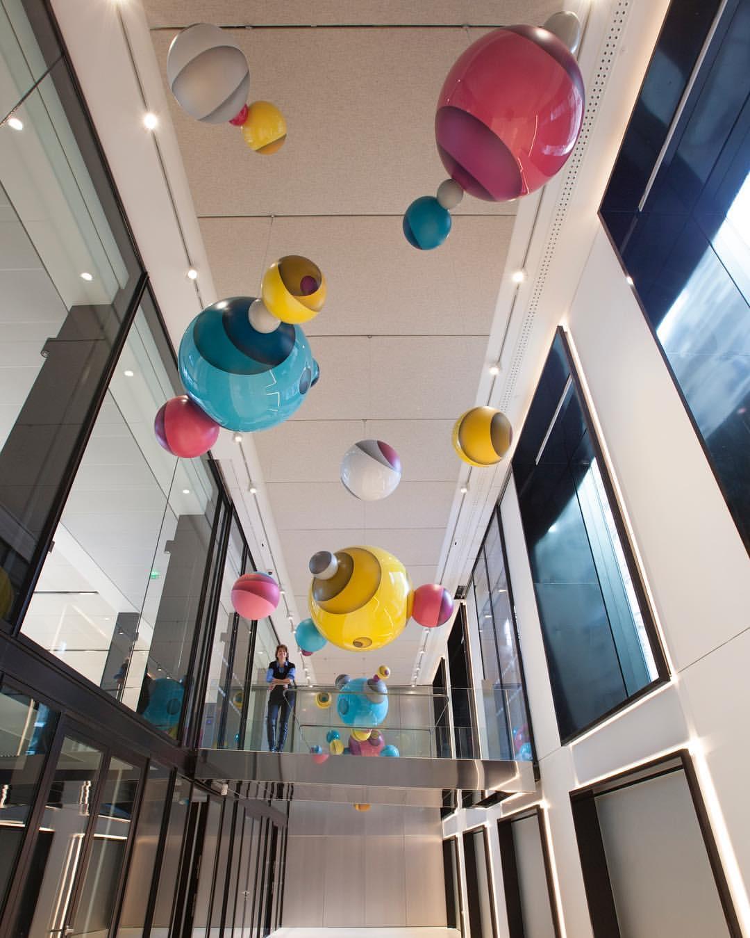 Jan Kalab, Private Cosmos, 2017 (55 rue d'Amsterdam, Paris 8, Gecina, Naud & Poux Architectes)