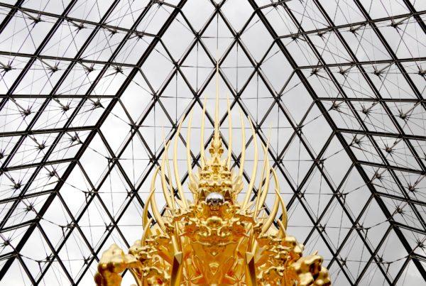 Kohei Nawa au Musée du Louvre