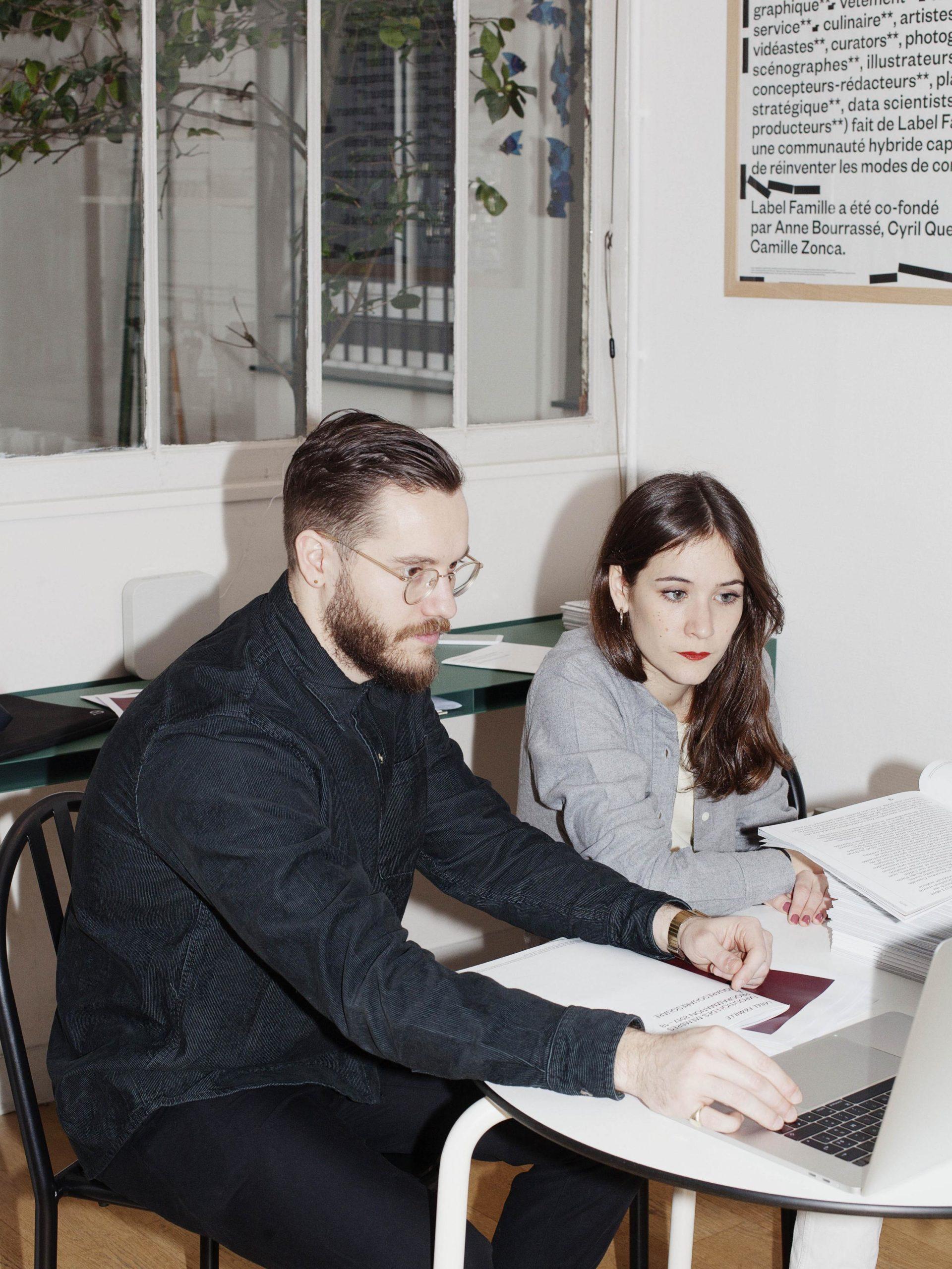 Label Famille, le Studio par Louise Desnos