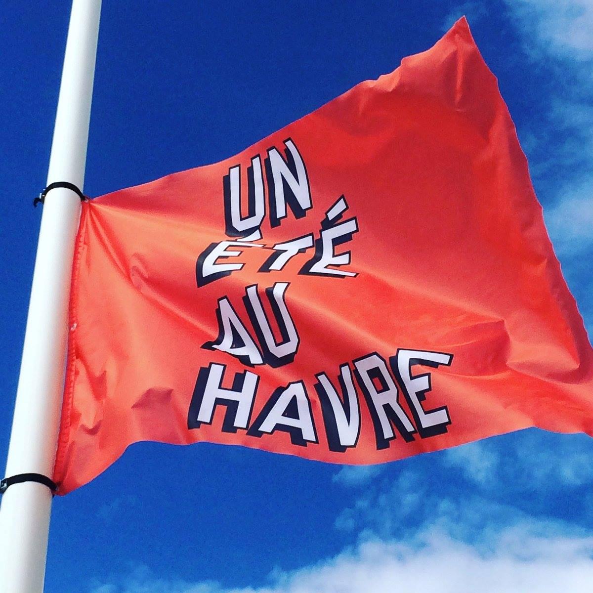 Mat drapeau Un Eté au Havre