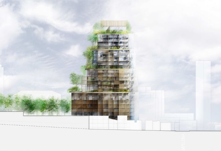 Matarazzo plan Ateliers Jean Nouvel The Farm
