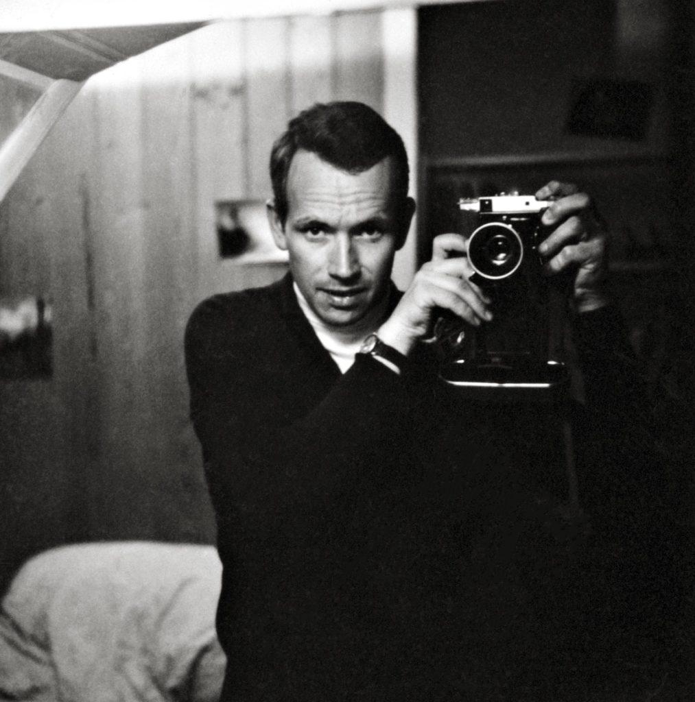 Michel Darbellay, Autoportrait vers 1965, Fondation Pierre Gianadda © Médiathèque Valais, Martigny