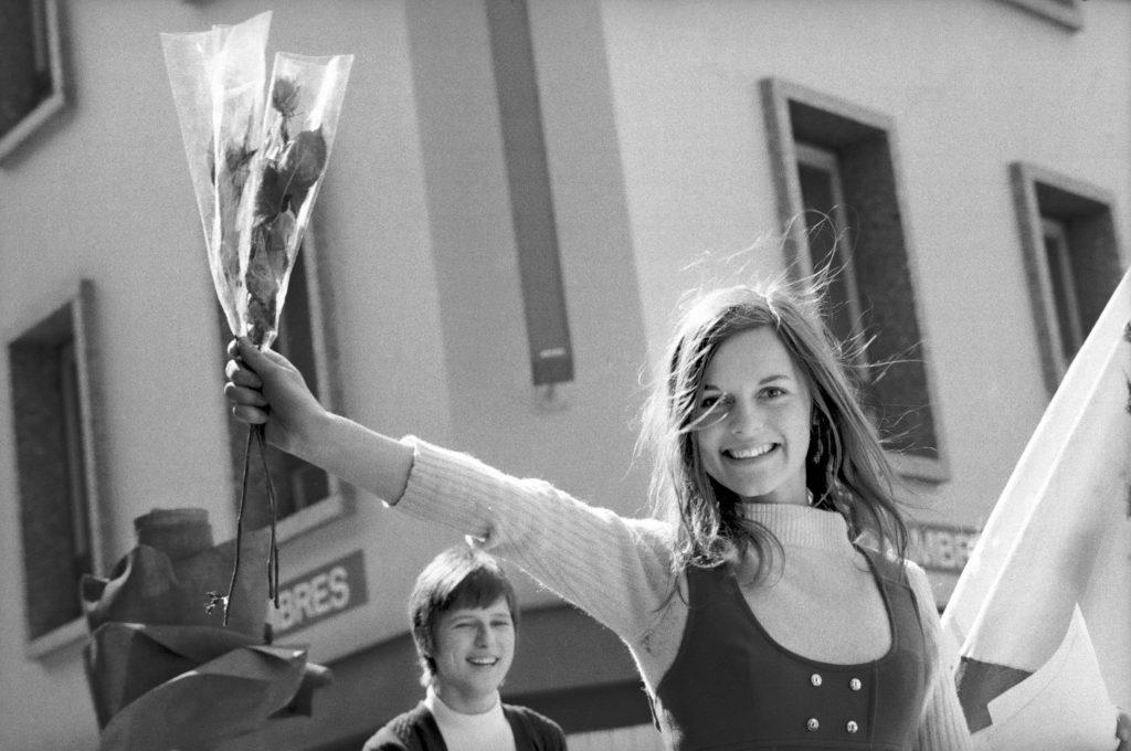 Michel Darbellay, Sufregette Martigny, 22 mai 1970, Fondation Pierre Gianadda © Médiathèque Valais, Martigny