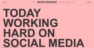 Miltos-Mannetas-Website