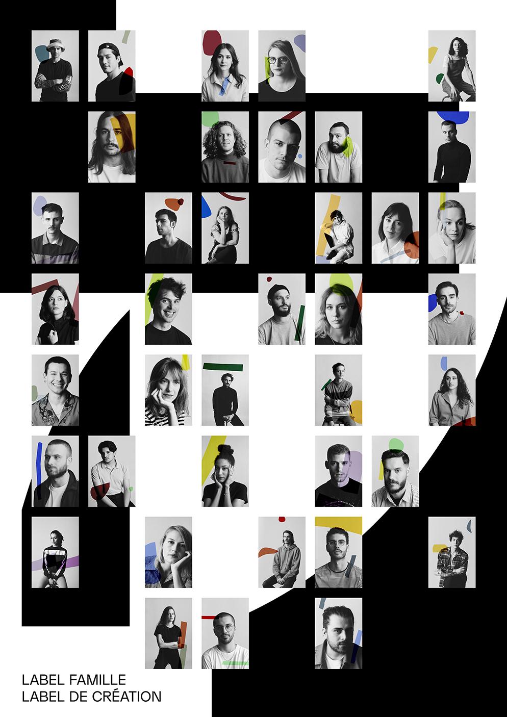 Portrait des créateurs Label Famille