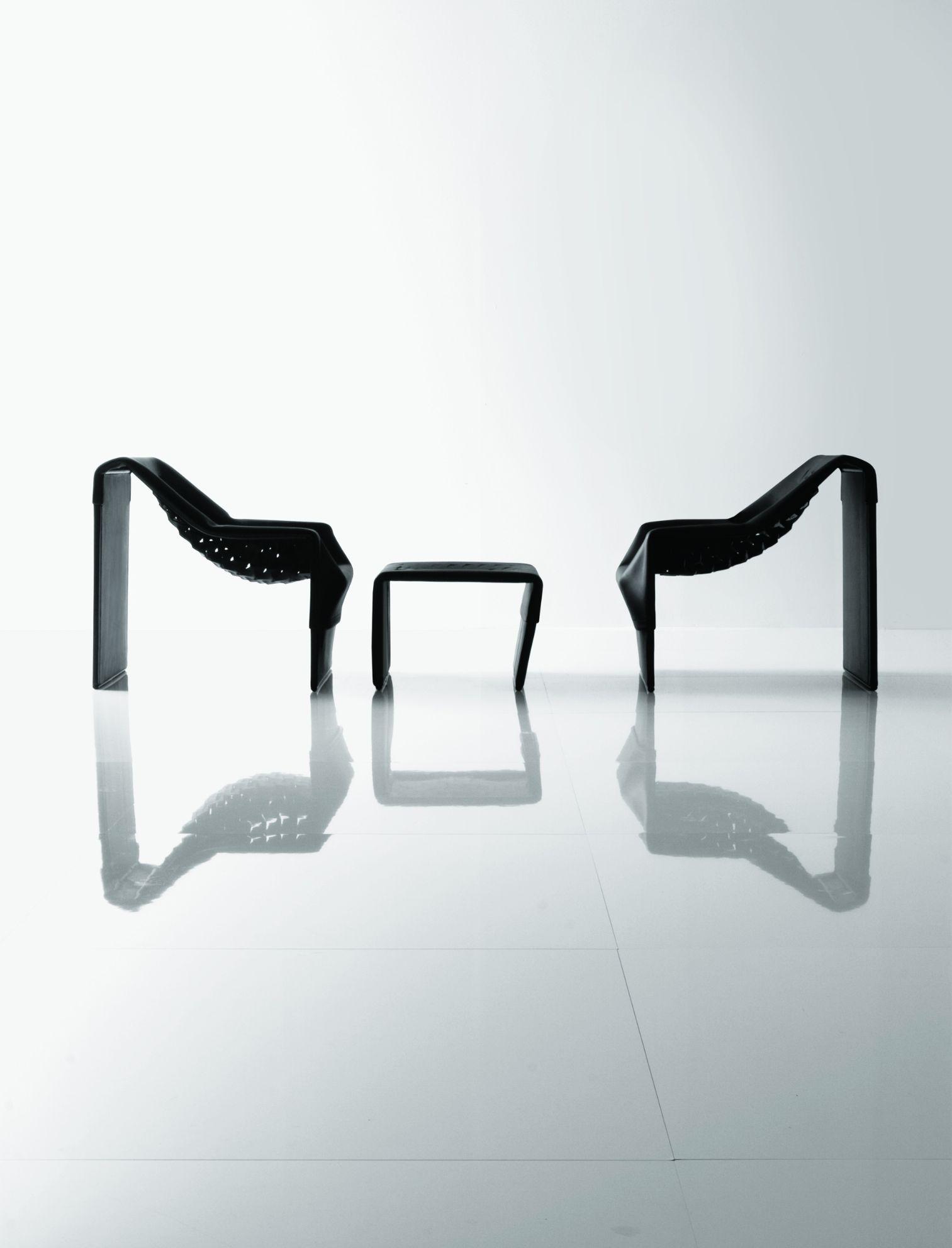 Skin Blacklist, Jean Nouvel Design © Molteni