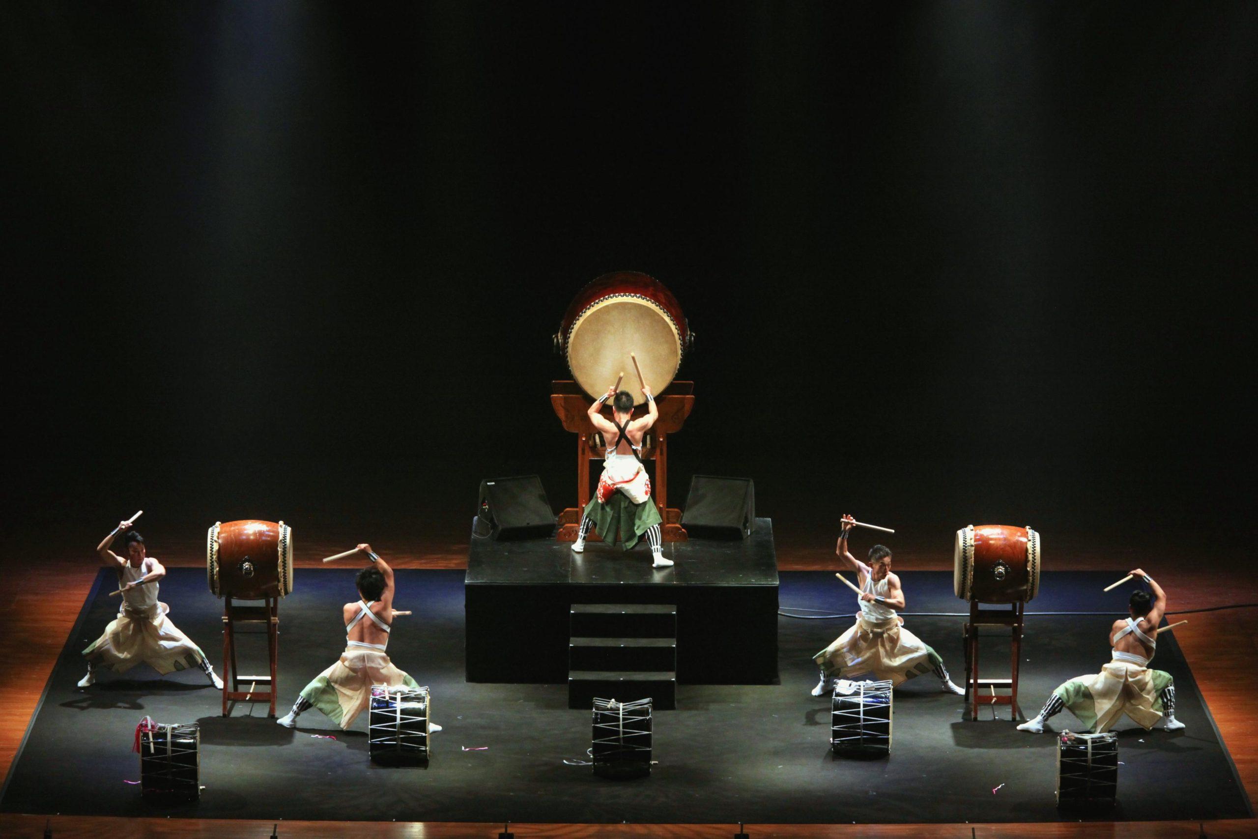Tambours Taikos à la Philharmonie de Paris