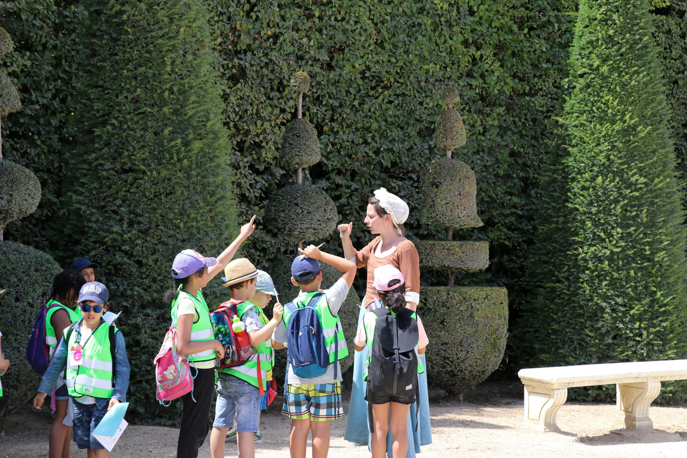 Une Journée de Vacances à Versailles © CLAD / THE FARM
