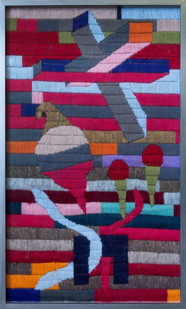 Georges Tony Stoll, Identifation Absurde, 54x33 cm, 2018, Courtesy Galerie Poggi
