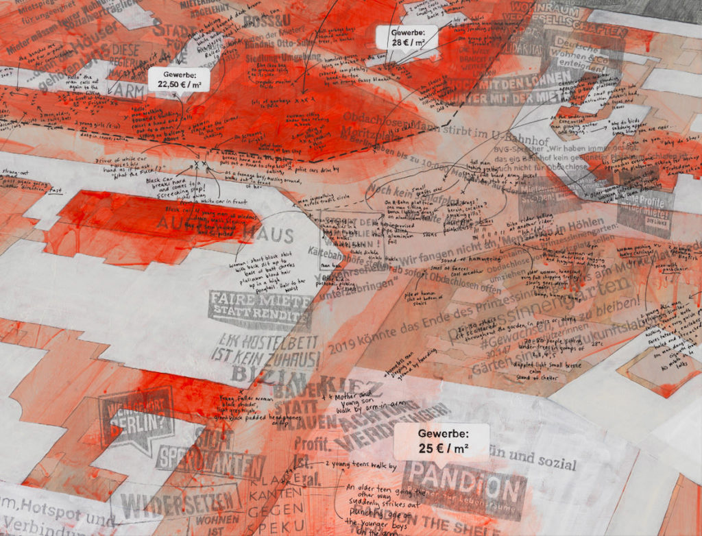 Larissa Fassler, Moritzplatz - Forms of Brutality, 2019 - 3, Galerie Poggi