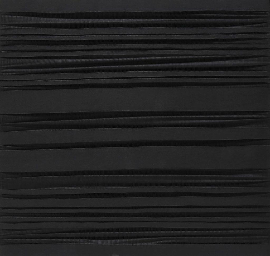 Sidival Fila, Metafora Nero 150 - 120x120, Courtesy - Galerie Poggi