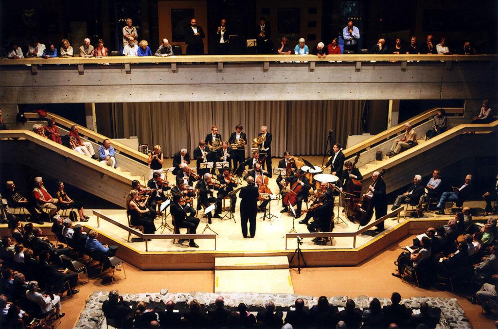 THE FARM PARIS Fondation Pierre Gianadda, Image générique Concert des Solisti Veneti, dir. Claudio Scimone, 23 août 2010 © FPG