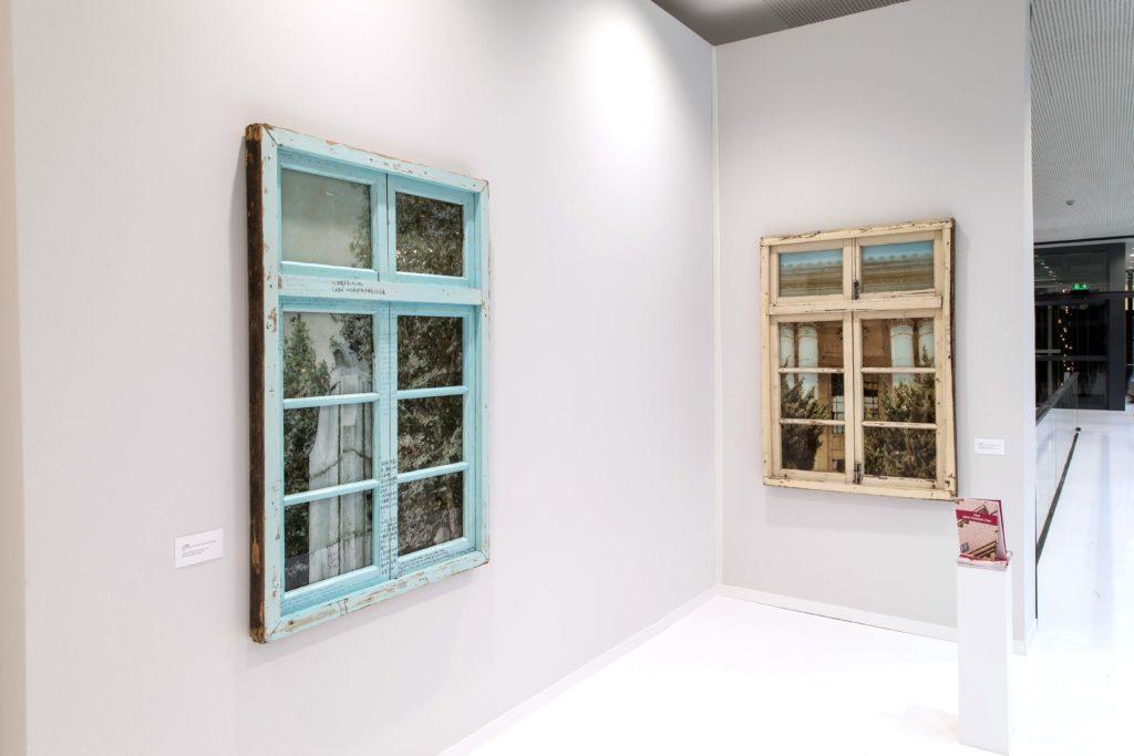 Exhibition view Li Qing at the 2017 Jean-Francois Prat Prize in Paris, photo credit Luc Castel