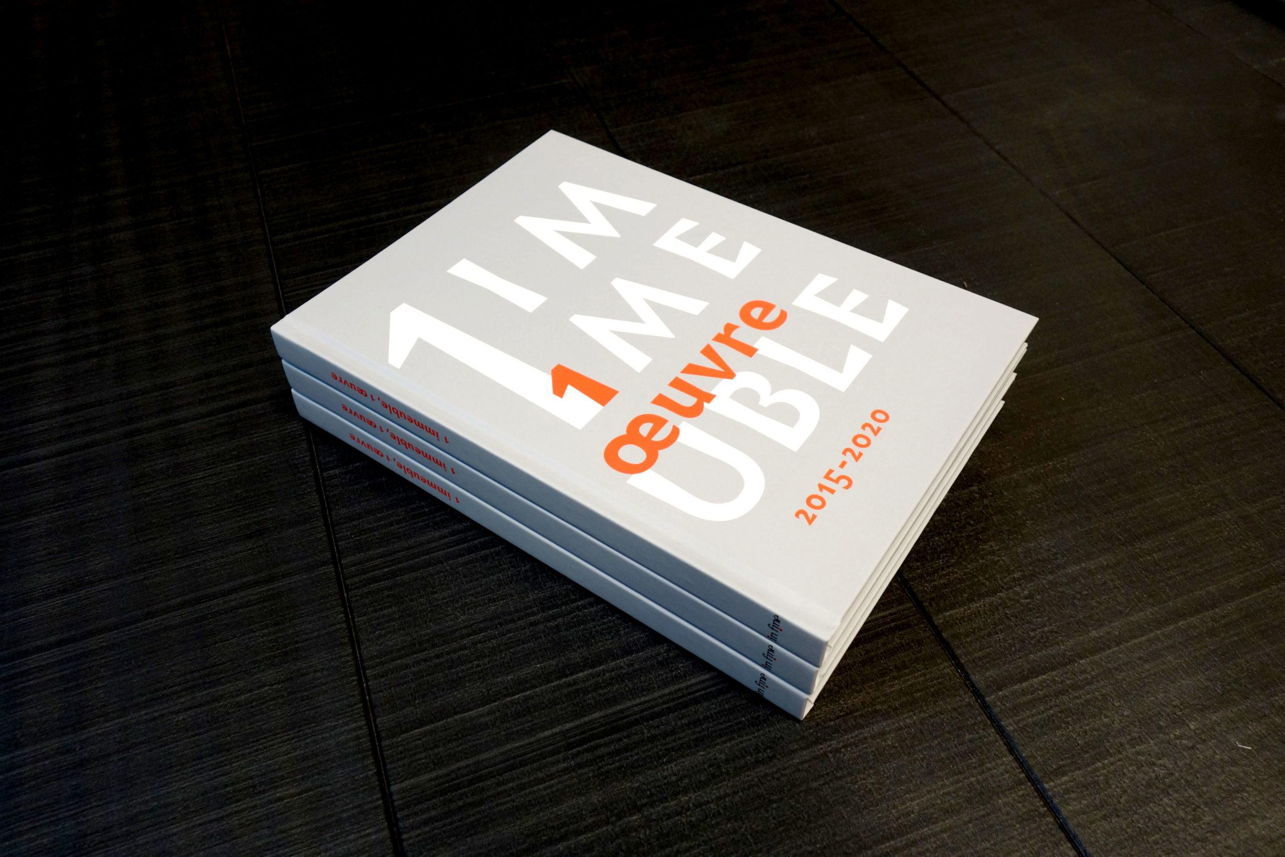 PUBLICATION DU LIVRE «1 IMMEUBLE, 1 ŒUVRE 2015-2020»
