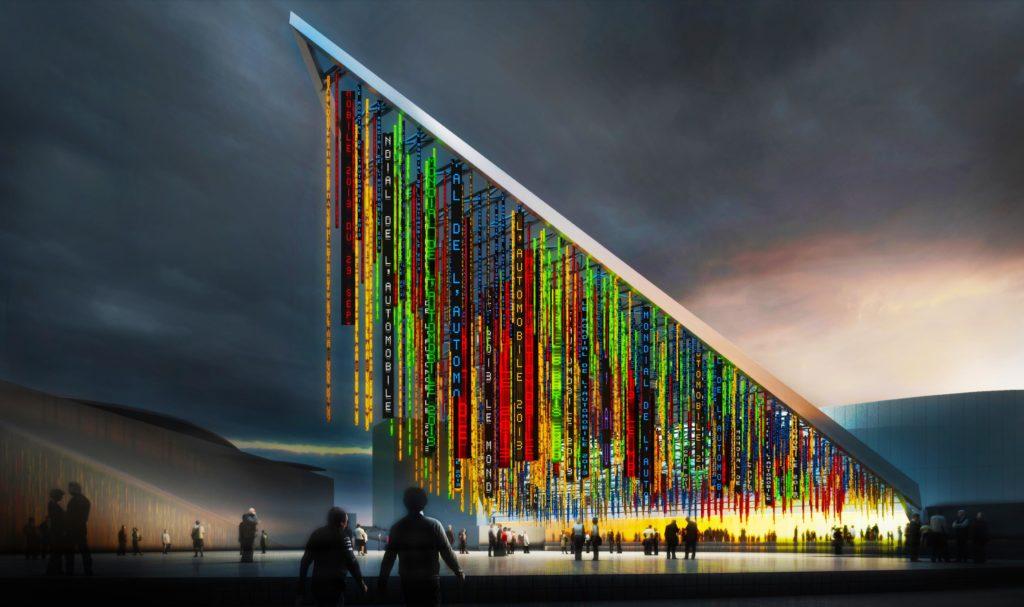 Ateliers Jean Nouvel, Inauguration du parc des Expositions de la porte de Versailles © Ateliers Jean Nouvel