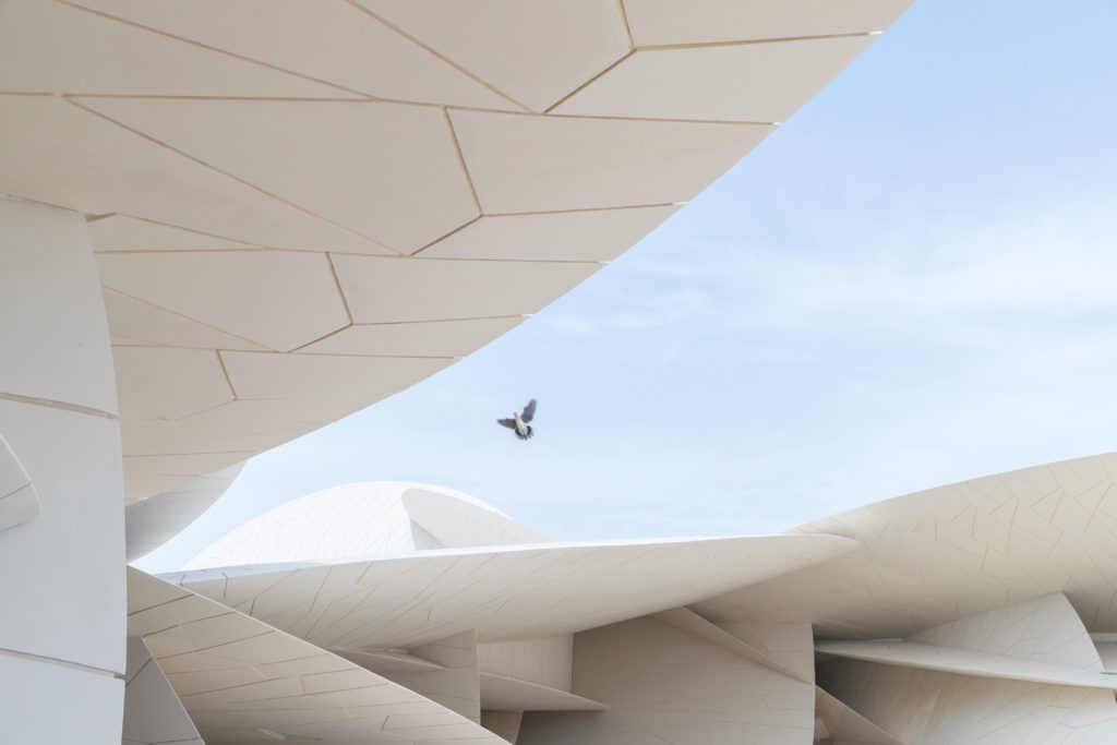 Ateliers Jean Nouvel, NMoQ - National Museum of Qatar © Iwan Baan