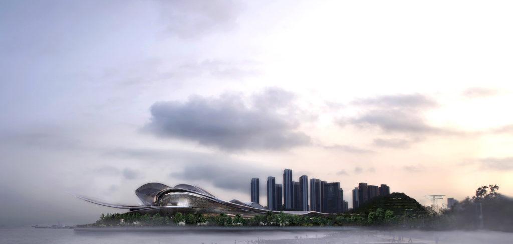 Ateliers Jean Nouvel, Shenzhen Opera House, Chine © Ateliers Jean Nouvel