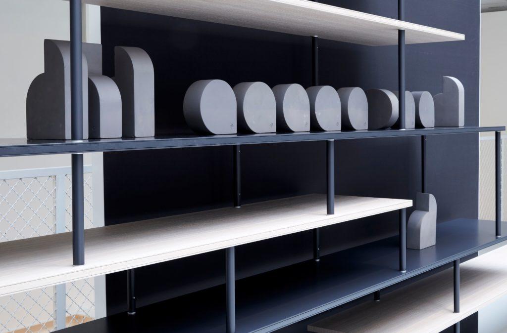 Jean Nouvel Design, Exposition chez RBC Paris de Super Position, MDF Italia © Jean Nouvel Design
