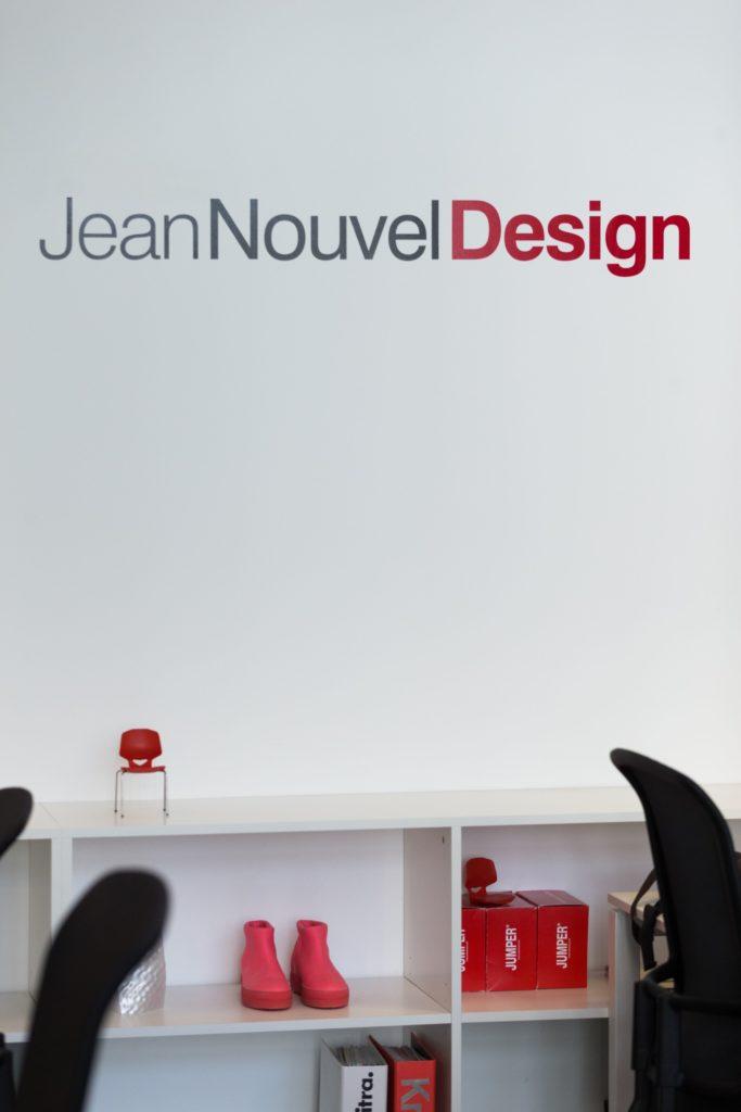Jean Nouvel Design, nouveaux bureaux, juillet 2019 © Thierry Malty
