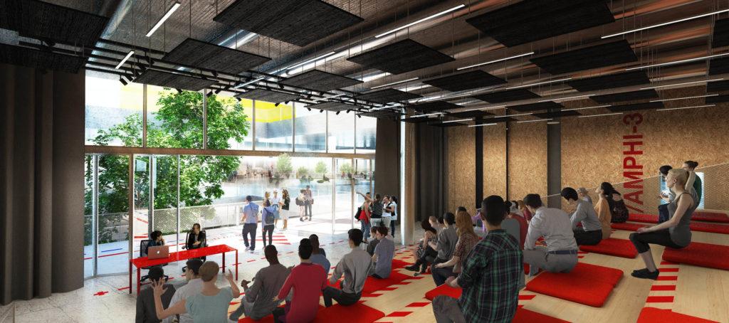 Ateliers Jean Nouvel, Jeuneville, Gennevilliers © Jean Nouvel / Samuel Nageotte