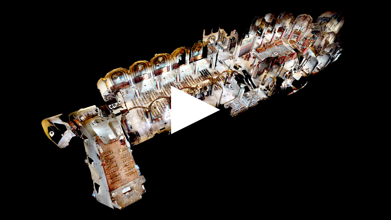 Visite virtuelle Saint Germain des Prés
