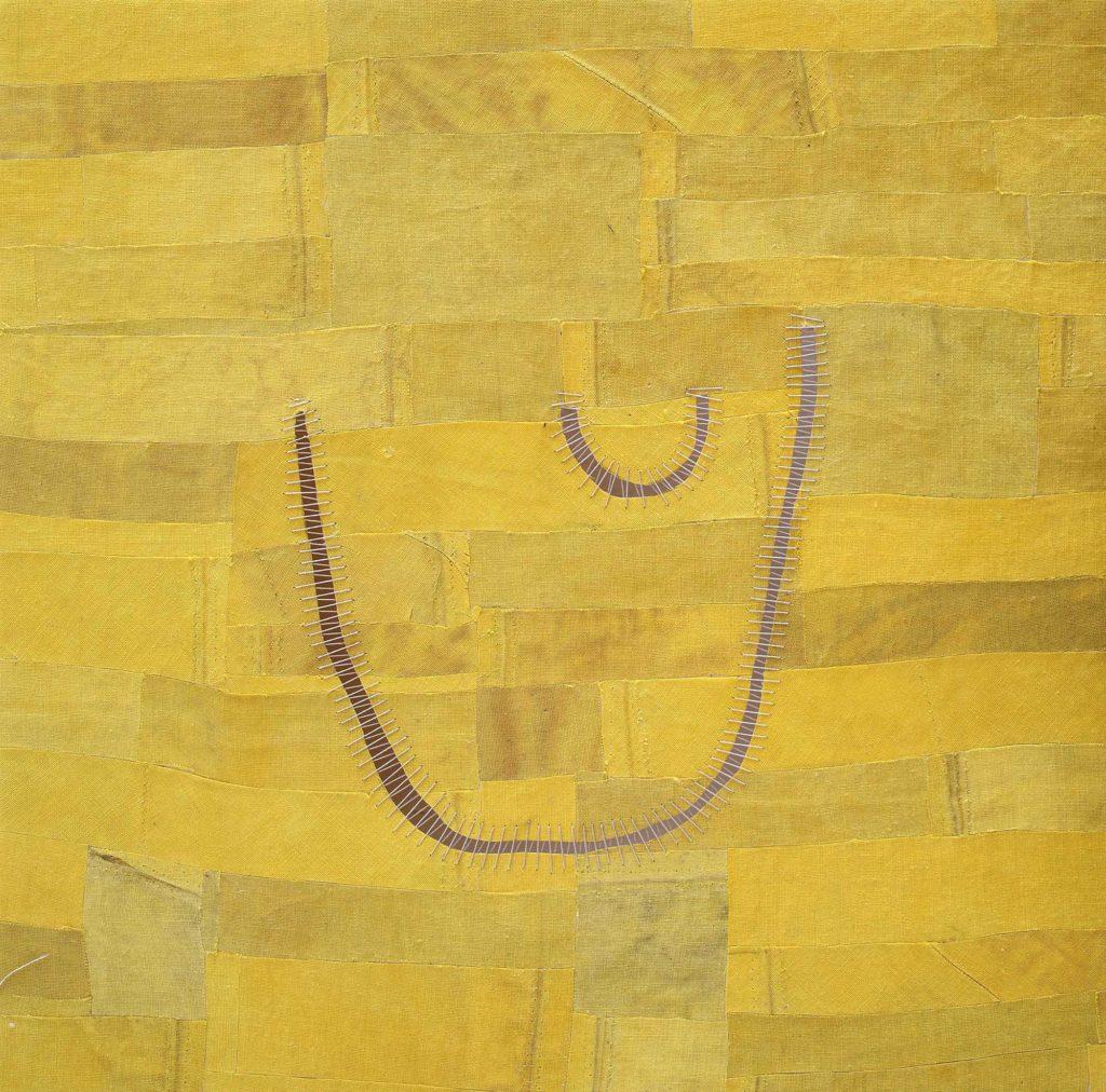 Sidival Fila, 2020, ST, giallo 03, courtesy Galerie Poggi