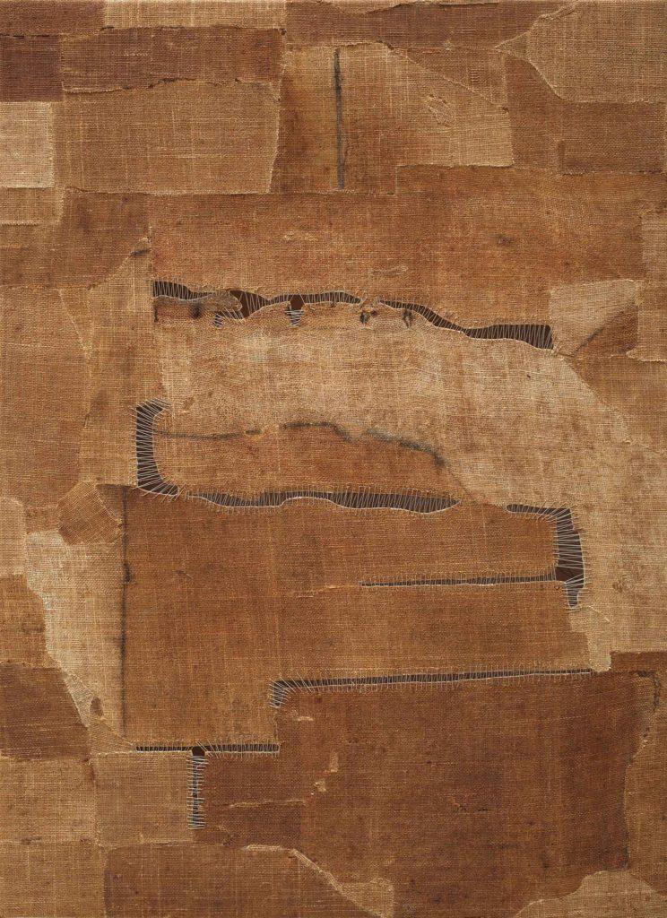 Sidival Fila, 2020, enza Titolo -serie marrone, courtesy Galerie Poggi