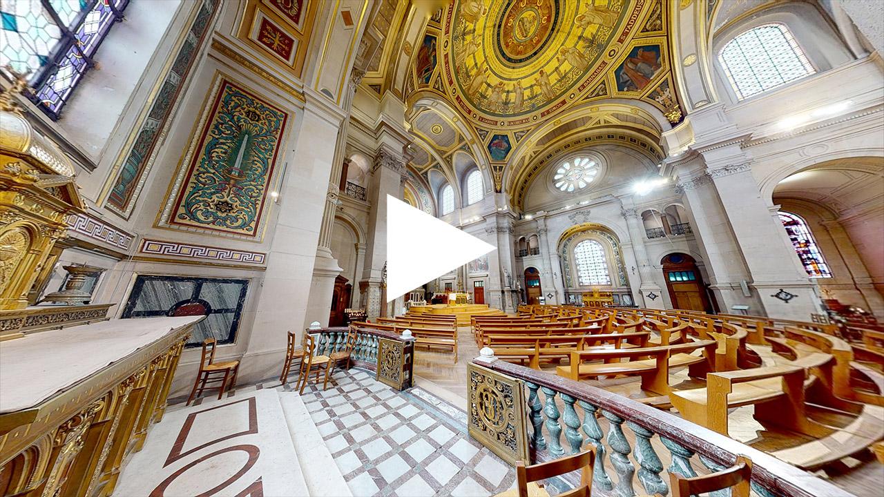 Eglise Saint Francois Xavier visite virtuelle