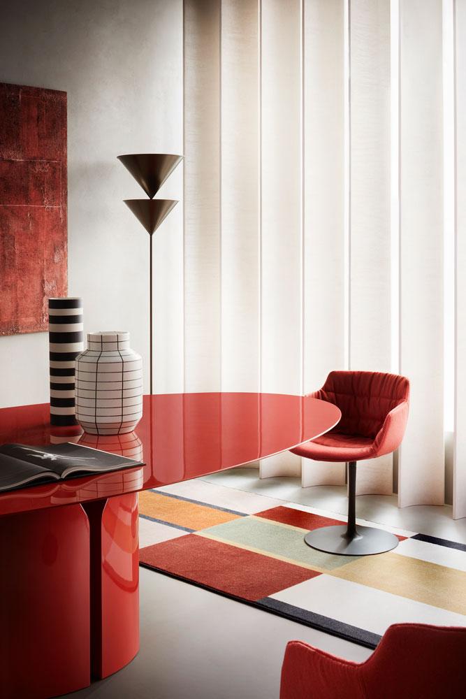 Jean Nouvel Design, NVL Table, 2020 © MDF Italia / Thomas Pagani