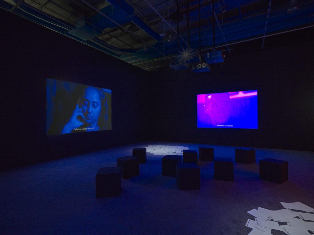 Prix Marcel Duchamp 2021, Lili Reynaud Dewar © Centre Pompidou, 2021, Photo Bertrand Prévost